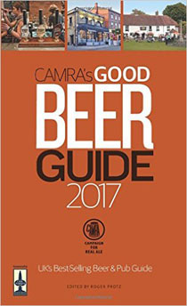 Front cover of the Good Beer Guide 2017