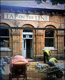 Pub being refurbished