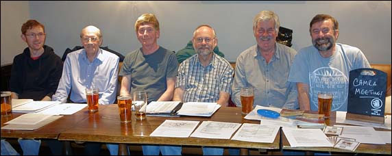 Picture taken at the 2015 AGM held in the Cabbage Patch, Twickenham