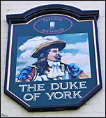 view of Pub sign