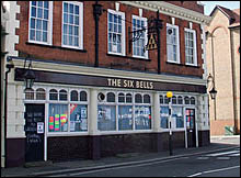 Outside view of The Six Bells